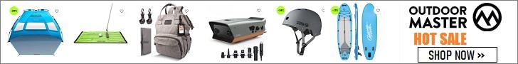 Kaufen Sie Ihre erschwingliche Outdoor-Ausrüstung und -Bekleidung bei OutdoorMaster.com